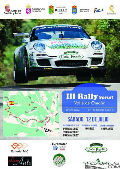 Rally Sprint Valle de Omaña 2014.