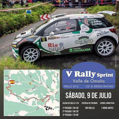 Rally Sprint Valle de Omaña 2016.